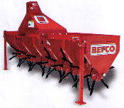 Befco BCA-048 Core Plug Aerator - Three Point Hitch Mount