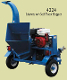 WLBXT4224 Tow Behind Wood Chipper With 24 hp Honda Engine