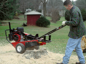 Model CPSC82HMC Mackissic Stump Grinder With Honda 8 HP Engine