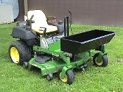 Model ZTQD36 Zero Turn Mower Mount Load Hauler, 3 cubic ft. capacity