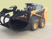 Legends model LE33225 skid steer mount round bale grapple 72 inches wide