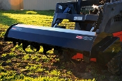 RHSST Hydraulic Powered Skid Steer Mounted Rotary Tiller 72 Inch