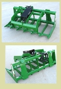 WOETG-5-JD Low Profile Grapple 60 Inches JD 300 400 500 Loaders