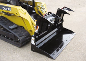 WOLPSB Low Profile Scrap Bucket Grapple Skid Steer Mount