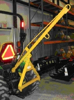 Woc 5 Tractor Crane Boom Three Point Mount