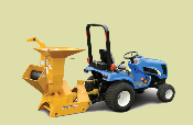 BXM32 Tractor Mounted, PTO Powered, Brush Chipper/Shredder