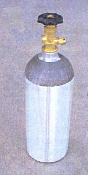 Part No. 10000247 Extra CO2 Bottle For 10000192 CO2 Power Pack For Scotsman And Fielder Paint Stripers