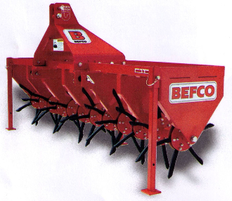 "Model BCA-072 Three Point Hitch Mount Aerator 72"" Aeration Width"