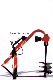 Part No. 009-9851 Auger Positioning Stand For Mole Series Post Hole Diggers