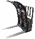 Model 336S27 pallet fork mount Add-A-Grapple brush grapple attachment, for forklift frames with flat forks up to 4 inches wide and 1 3/4 inches thick.