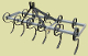 Model MKCU-5 tractor mounted spring tine cultivator 5 ft. wide