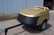 Trailer Bra-Z Optional Trailer Bra For Zephyr Cargo Trailer