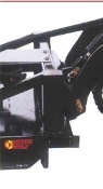 BW42059 universal mini-skid steer mount plate