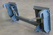 Model 832550 Euro To Skid Steer Adapter Plate
