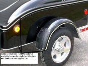 DXL Trim - Vinyl, chrome colored press on trim for either the Dart or XL cargo trailers