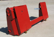 Model 832820 Adapter Plate (IH Loaders 2250 and 2255 to skid steer attachments)