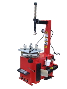 Model TC-400M-B automatic rim clamp style motorcycle tire changer