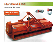 H80 Series Befco Hurricane Flail Mowers