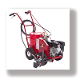 Model 4600 Newstripe Brand Airless Paint Striper, walk behind self-propelled model.