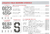 Athletic Field Stencil Kits