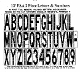 Part No. 10003327 FAA Specification stencil 12 ft. tall
