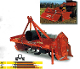 Model T30-134 Befco tractor mounted, pto powered rotary tiller with side shift feature