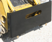 Model 832790 WSP-HD Heavy-Duty weld-on skid steer plate for implements