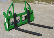 "WOJDPF-H48048 Pallet Fork Carriage 48"" Forks For JD H480"