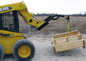 Model WOC-95 Skid Steer Mount Tree Crane Boom With 3500 lbs. capacity.