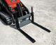 WOMPF-900 Pallet Forks For Mini Skid Steers