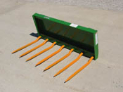 WOM/S-60JD Manure And Silage Fork For JD 400/500 Loaders