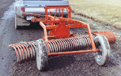 009249 York Model HT Tow Behind Landscape Rake 9 Ft. Wide