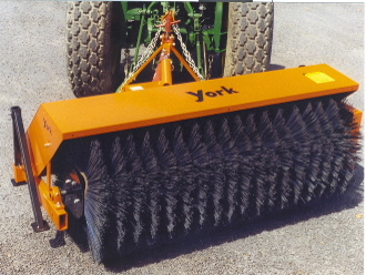 009876 YB326 York Sweeper 6 Ft. Wide 32 Inch Diameter Brush