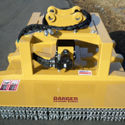 BW4800X Standard Flow (20-30 gpm) mini- excavator mounted brush mower