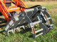 WOCTMG-48S Brush Grapple For Sub-Compact Tractors Quick Attach