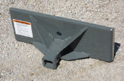 812445 Adapter Plate Mini-Skid Steer To Receiver Hitch Mount