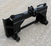 835100 Skid Steer Plate To Category II Quick Hitch