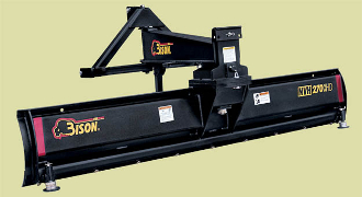NVH-240-XHD Bison Tractor Blade 8 Ft. Wide Tractors Up To 120 HP