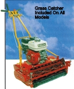 Model 25-8.00GT-10-GK Greens Keeper series greens mower, self-propelled, Briggs engine, 25 inch cutting width