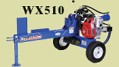 WX510 Tow Behind Engine Powered Wallenstein Logsplitter