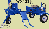 WX1320 Tow Behind Log Splitter 13 HP Honda Engine 7 Second Cycle
