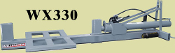 WX330 Three Point Hitch Mount Log Splitter 48 Inch Long Capacity