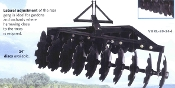 "BIRIB-2024 Bison 3 Point Mount Offset Disc Harrow 89"" Wrk Width"