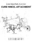 2101 Curb Wheel Attachment For Mclane Edgers