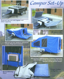 Timeout Deluxe Camper Trailer