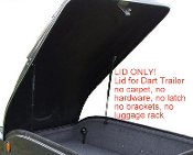 DRL Dart Cargo Trailer Replacement Lid