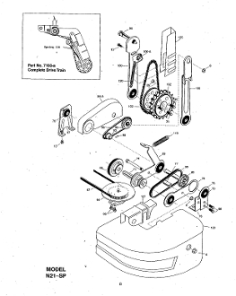 7070-A Height Adjustment Tie Rod And Axle Mclane Rotary Mower