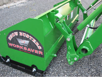 SPJD-2060M Box Type Pusher Snow Plow JD Mount 5 Ft. Metal Edge