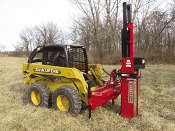 HPD-26QHSS/P Skid Steer Post Driver Self-Contained Hyd Q-Tech