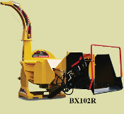 BX102RI Wood Chipper Hyd. Feed With Intellifeed 10 Inch Capacity